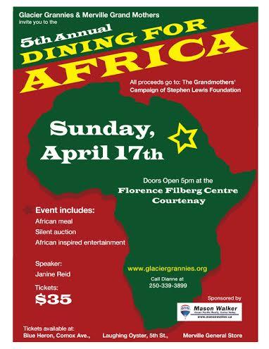 African Dinner 2016 Poster